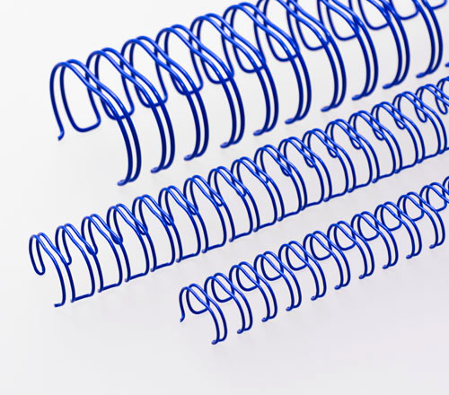 Box of 25 Pieces 1 1//4 = 32mm RENZ Ring Wire White 2:1 Pitch A5 17 Loop Binding Element